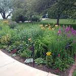 Moss Mansion gardens