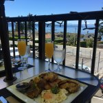 Brunch with a view on weekends!