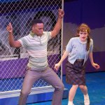 Stephen Wormley and Abigail Isom in Hairspray 2017