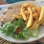 Steak a l'échalote et frites