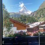 Matterhorn view from room 225