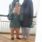 Crazy mirrors on pier