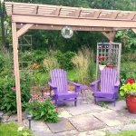 Garden Pergola - perfect for sipping wine
