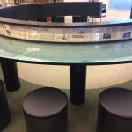 Typical lunch counter where black activists would sit to protest segregation