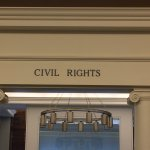 Entrance to the room on the 2nd floor of the Nashville Public Library