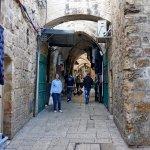 Das moslemische Viertel Foto