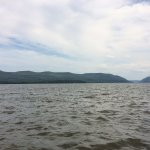 This was actually taken looking south from the dock in Newburgh looking down the Hudson
