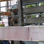 La terrasse est dans un état désastreux...comme le reste!