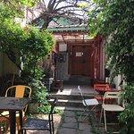 Little cafe outside