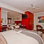 Quad guest room