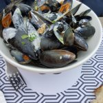 Mussels in Cream sauce