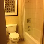 Smaller bathroom. Room 427.