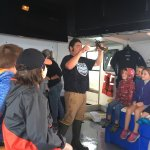 Diver Ed teaching us all about lobsters