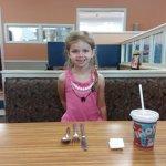 happy granddaughter