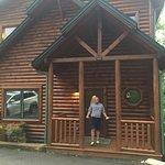 """Gatlinburg Falls, Hidden Valley resort pool and """"Daydreamer Delight"""" cabin"""
