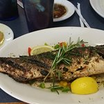 Bronzini after it's cooked