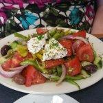 My mom's Greek salad.
