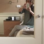 Love the mirror cupboard doors