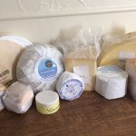 The cheese collection... soon to feature on Nigel's cheese trolley!