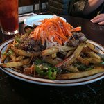 Bahn Mi fries...heart attack on a plate!