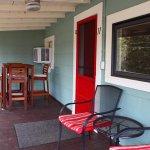 Cottage 11 front porch