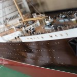 Scale model of the Queen Mary