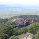 Mohonk Mountain House from Skytop Tower