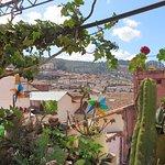 Patio avec vue sur Cuzco.
