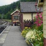 Levisham station location for numerous 'period' movies & TV dramas