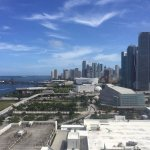 View from Room 1434 (two windows)