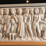 Marble sculpture from monastery