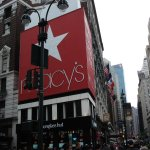 Macy's at Herald Square right around the corner.