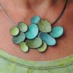 Necklace by Mary + Lou Ann from Concord North Carolina