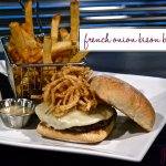 French Onion Bison Burger