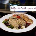 Halfie Salad with Organic Chicken
