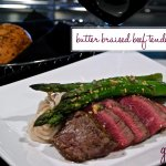 Butter Braised Beef Tenderloin