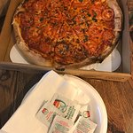 Margherita Pizza to-go from Big Daddy's