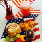 4th of July hapy hour party treats!