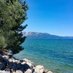 South Lake Tahoe, California. Just a very short walk from the campsite.