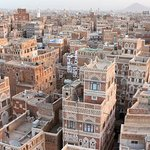 Old Sana'a from the Hotel.