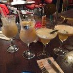 2 for 1 cocktails. Virgin passion fruit Batida  and Citrus Samba. Amazing