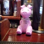 Pig at thee bar at crown inn x