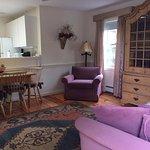 John Q Adams - King Suite Living Area