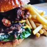 Frequently hailed as the best burger I've ever had- They are handmade from local produce right h