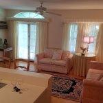 Martin Van Buren Queen Suite Living Area