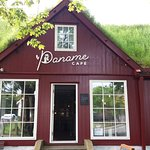 Café in the center of Tóshavn serving homemade cakes, sandwiches and salads