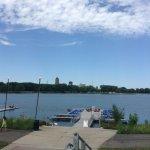 View of Gray's Lake Park
