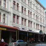 The beautiful architecture on Cuba Street