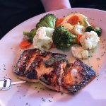 May 23rd visit- ordered Grilled Salmon Medium, came out burned beyond belief! Not the first time
