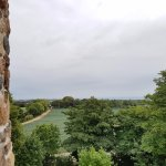 View from the top of the mound by the church